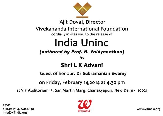 Invitation.14 Feb 2014